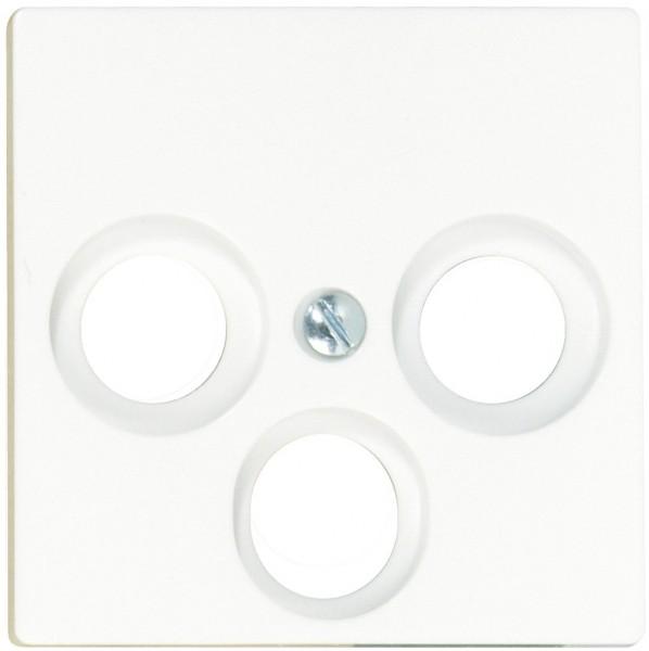 OPUS® 55 Abdeckung für Antennen-Steckdosen, 3-Loch