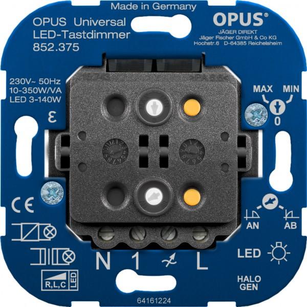 OPUS® Universal LED-Tast-Dimmer