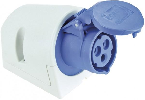 SIROX® CEE-Wanddose IP 44, 3-polig, 230 V, 6 h
