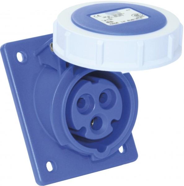 SIROX® CEE-Anbaudose IP 67, 3-polig, 230 V, 6 h, schräg 16 A