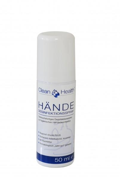 Clean-4-Health Hände-Desinfektion-Spray PLUS HD500