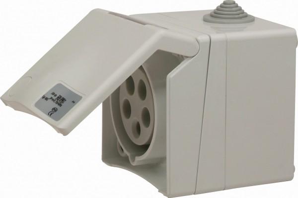 SIROX® CEE-Aufputzsteckdose, 5-polig, 400 V, 6 h
